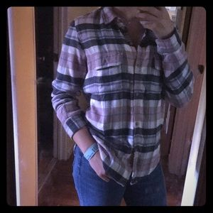 New American Eagle Flannel Shirt
